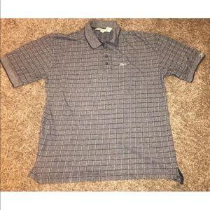 1dfa6a0cb62 Reebok Shirts   Golf Mens Pique Polo Checkered Vintage   Poshmark
